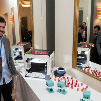 BUSINESSEUROPE Day 2016 - ÔREFORM TO PERFORMÕdemonstration of 3D-printer by BQ
