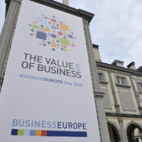 BUSINESSEUROPE Day 2018 - 'The value.s of business'